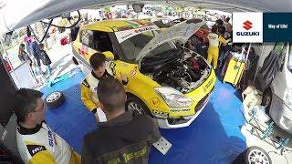 Suzuki Rally Trophy – Preparazione SWIFT (Timelapse)