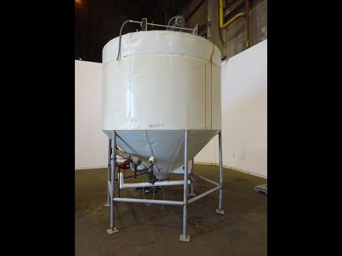 Used- Tank, Approximately 1,700 Gallon, 304 Stainless steel - stock # 48353003