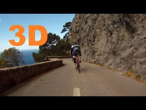 3D HSBS - Majorque/Mallorca 2014 - Descente au Port de Valldemosa descent