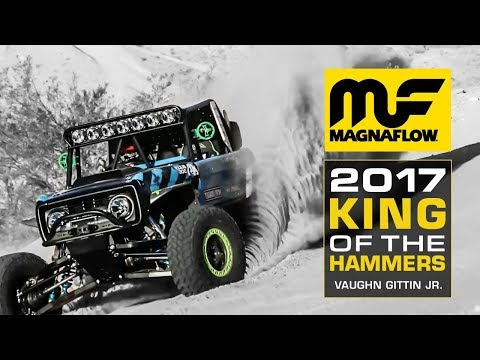 Magnaflow at KOH 2017 - Vaughn Gittin Jr.