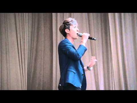 2014.07.11 陳勢安東泰高中校唱-非你不可