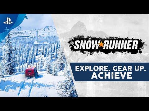SnowRunner - Explore. Gear Up. Achieve. | PS4