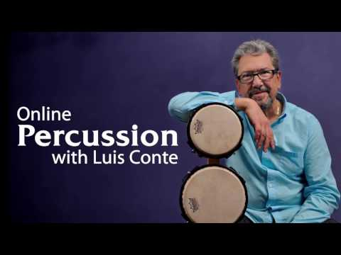 Percussion Lessons with Luis Conte - Promo