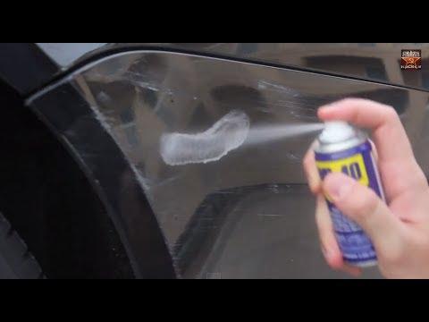 Најдобриот и најевтиниот начин да ги прекриете гребнатините на бојата на вашиот автомобил
