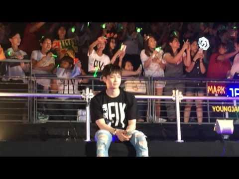 [160612] GOT7 - Confessions Song (JB AH!!) #flyinbangkokday2