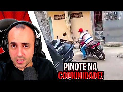 Reagindo a PINOTE INSANO DENTRO DA COMUNIDADE por Sd R Novais