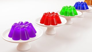 Learn Colors with Jelly | Yummy Jelly For Kids Children
