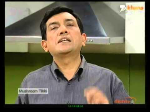 Khana Khazana - Mushroom Tikki