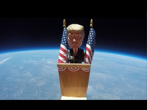 Trump in Space video