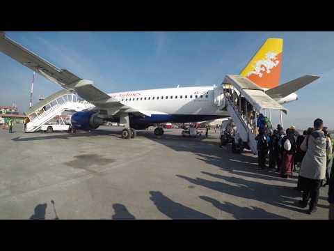 Bhutan tour -  Day first KTM to Paro