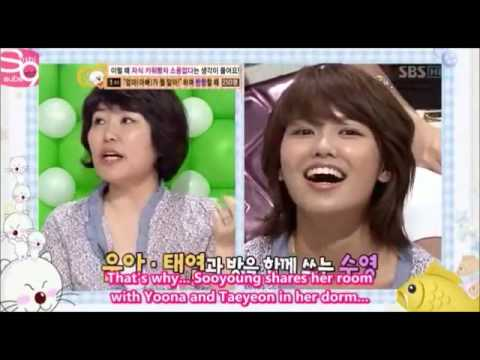 SNSD Sooyoung's Mom -