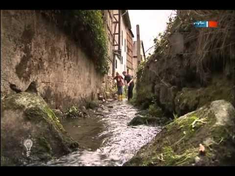 Mobile Staustelle zur Löschwassergewinnung - MDR Einfach genial Moderations-Cuts - 18.09.2012