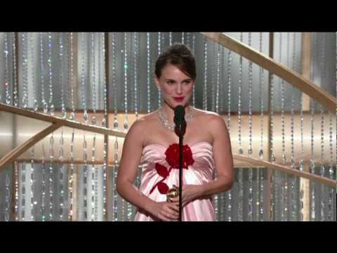 Golden Globes 2011 - Natalie Portman Acceptance Speech - YouTube