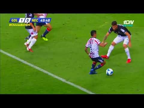 Video: Guadalajara 1 - 0 Necaxa   Jornada 6  Apertura 2018  LIGA Bancomer MX
