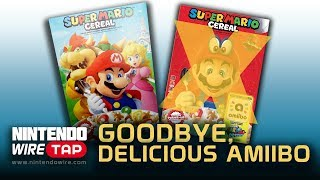 Super Mario Cereal Dumps amiibo Support | Nintendo Wiretap