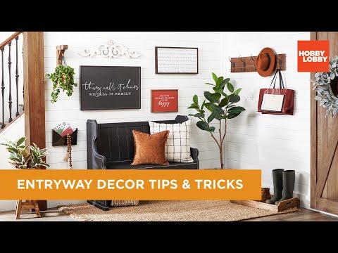 Entryway Decor Tips & Tricks | Hobby Lobby®