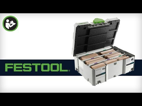 Festool Beechwood Domino assortment DS/XL D8/D10 306x BU 498204