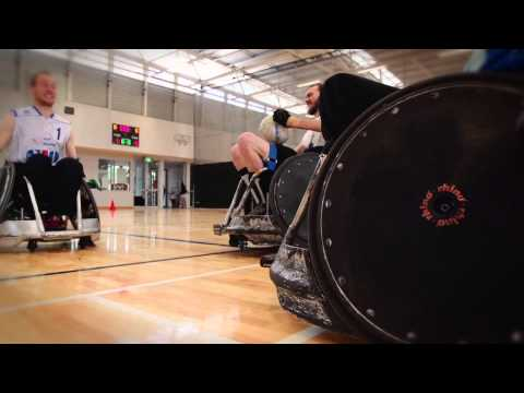 Wheelchair Rugby Hits Promo