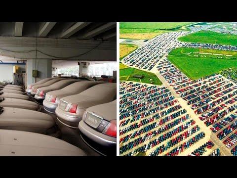 Gdje završavaju neprodani automobili? Pogledajte impresivne fotografije automobilskih grobalja!