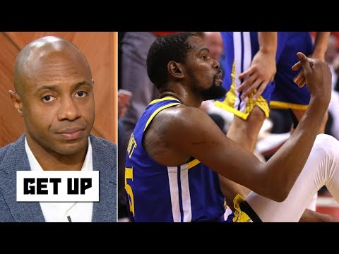 Kevin Durant was 'misdiagnosed,' Warriors to blame for Achilles injury – Jay Williams | Get Up