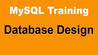 MySQL Tutorial for Beginners - Part 5 - Database Design