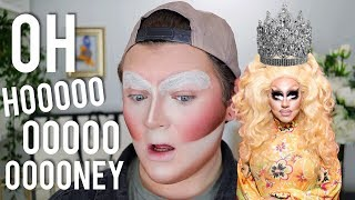 I TRIED FOLLOWING A TRIXIE MATTEL MAKEUP TUTORIAL | Jack Emory
