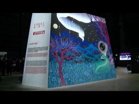 Pirelli nel segno della Street Art