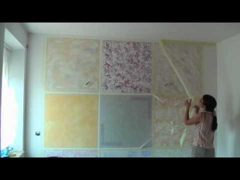 kreative wandgestaltung wischtechnik lasurtechnik. Black Bedroom Furniture Sets. Home Design Ideas