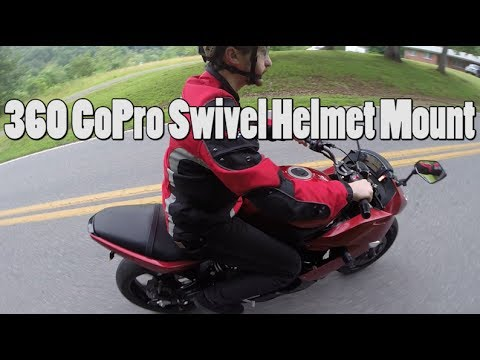 DIY 360 GoPro Swivel Helmet Mount - KGB Survivalist  - xMMNZHd89wg -