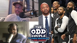 Chris Broussard Disputes Jay Williams Saying Nets May Have the 'Best Assembled Trio in NBA History'