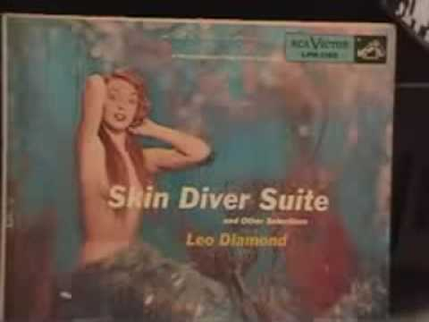 the Skin Diver Suite by Leo Diamond pt1 online metal music video by LEO DIAMOND