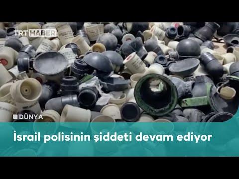 İsrail'in attığı plastik mermiler