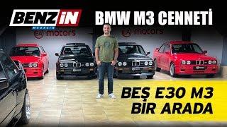 M3 Cenneti | Beş E30 M3 bir arada | S54 swap E30 | VLOG
