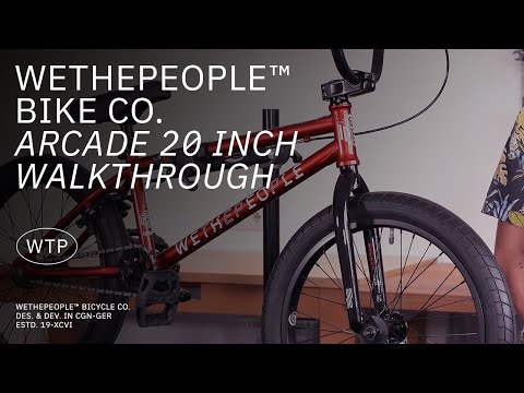 "Video WTP BMX ARCADE 20.5 """" 2021 Candy Red"