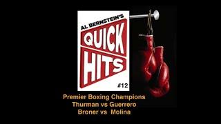 Al Bernstein's Quick Hits #12 - Premier Boxing Champions