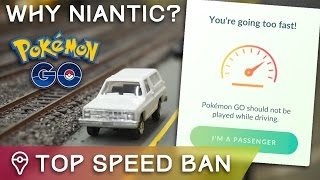 NO MORE POKÉMON SPAWNS OVER 30 MPH... WHY @NianticLabs?