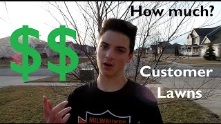 Customer Lawn Price Points Explained