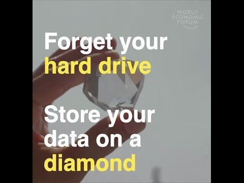 734 Scientists want to store your data on diamonds