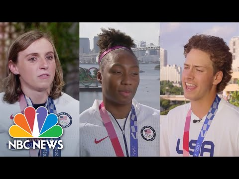 Olympic Athletes Answer Kids' Questions   Nightly News: Kids Edition