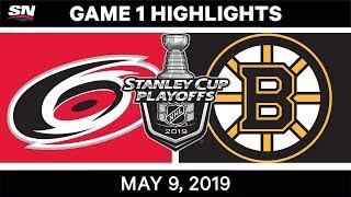 NHL Highlights | Hurricanes vs. Bruins, Game 1 – May 9, 2019