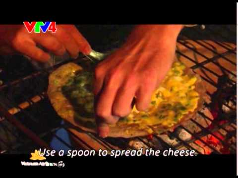 VTV4 - Grilled rice paper in Dalat