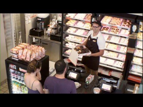 Ellen in Your Ear at Dunkin' Donuts!