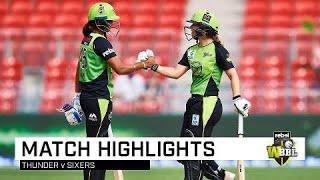 Thunder thrash Sixers in Sydney Smash   Rebel WBBL 04
