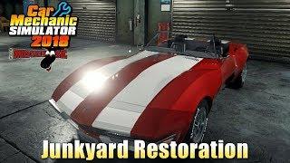 Car Mechanic Simulator 2018 | Junkyard Restoration (Corvette) Part 1