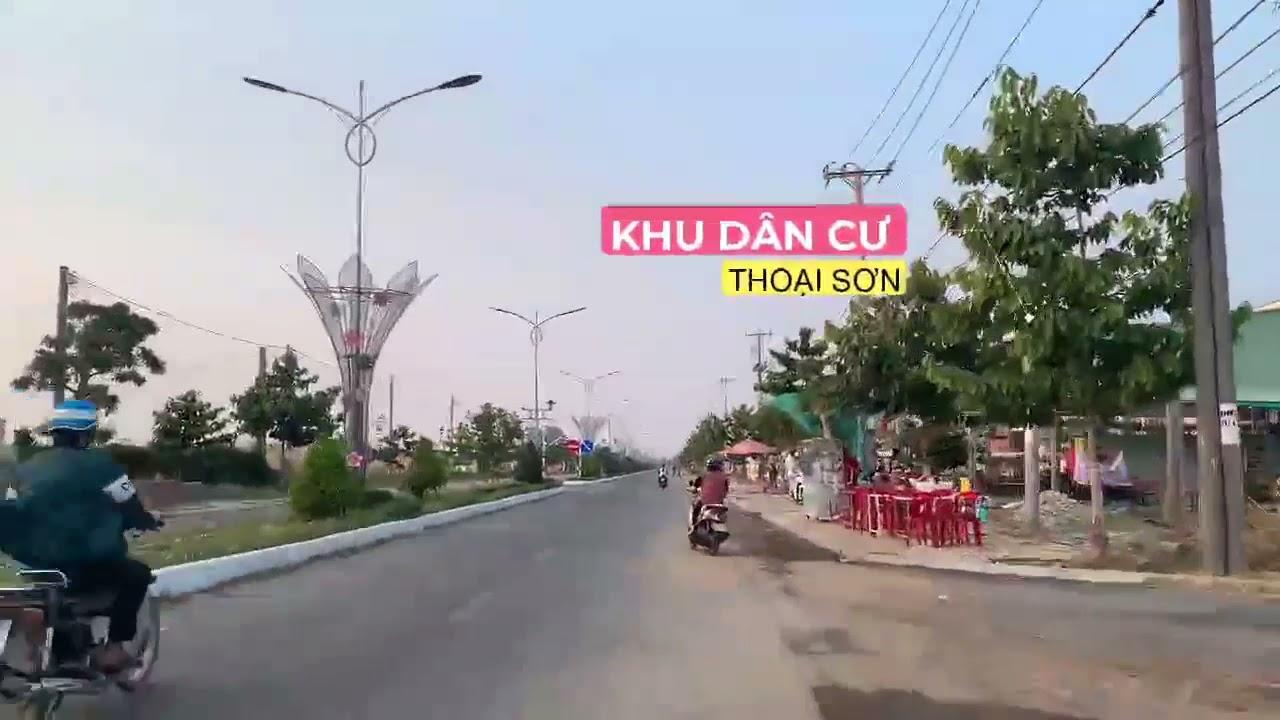 Bán gấp nền kề gốc vị trí đẹp giá tốt nhất khu vực huyện Thoại Sơn video