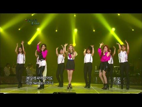 【TVPP】SNSD-TTS - Twinkle, 소녀시대-태티서 - 트윙클 @ Beautiful Concert Live