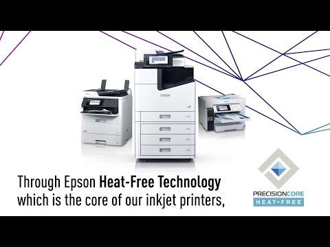 Go Heat-Free with Epson inkjet printers
