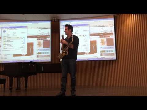 Eric Marienthal Sax Clinic in Taipei (part 2/3) (2012/11/27)