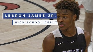 Bronny James and Zaire Wade's 1st HS game together is a big win for Sierra Canyon | Prep Highlights