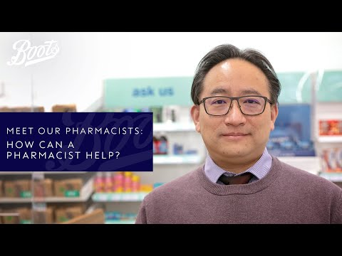 boots.com & Boots Discount Code video: Meet our Pharmacists | How can a Pharmacist help? | Boots UK